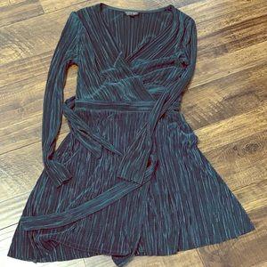 TOPSHOP dark green dress size 6